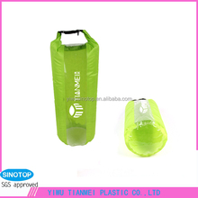 High quality pvc clear waterproof kayak deck plastic bag