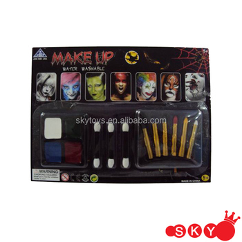 fancy tearful clown face paint kit halloween makeup full face makeup kit