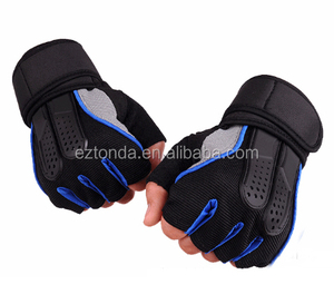 custom outdoor sports non slip removable finger out gloves