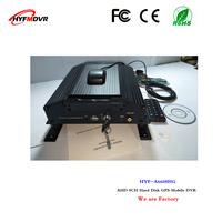 car monitoring factory direct sales 8ch hard disk mdvr gps positioning video surveillance host ahd car video recorder