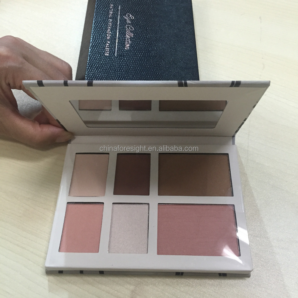 paper eyeshadow palette Private label organic cosmetics