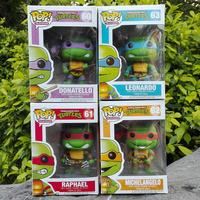 Fasctory Custom TMNT Funko pop action figures Teenage Mutant Ninja Turtles anime figures