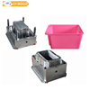 China supplier custom PP plastic crate mould