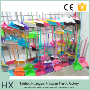 Cleaning Tools Plastic broom&dustpan set high quality plastic brush and dustpan
