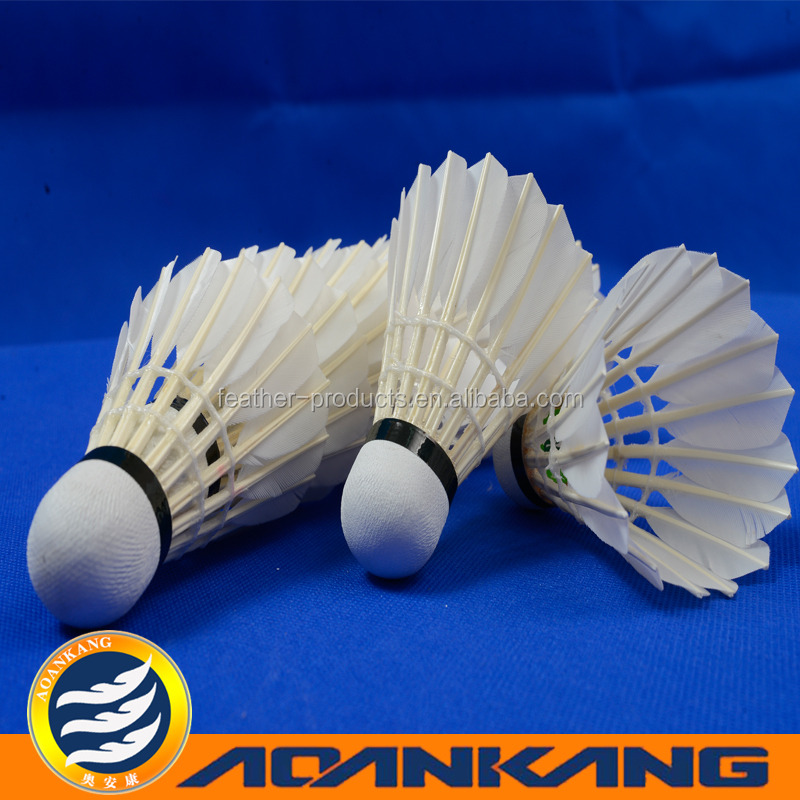hot sales badminton/luminous color badminton/badminton feather shuttlecocks