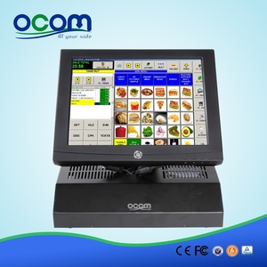 POS-8812: factory supplier all in one pos system software, pos terminal machine