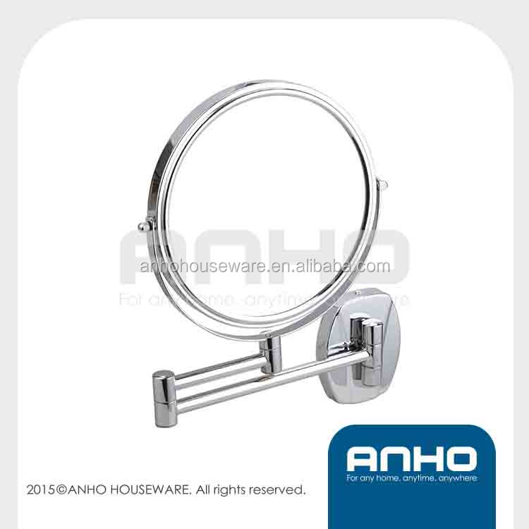 Two-Sided Extension Wall Mount Adjustable Circle Mirror