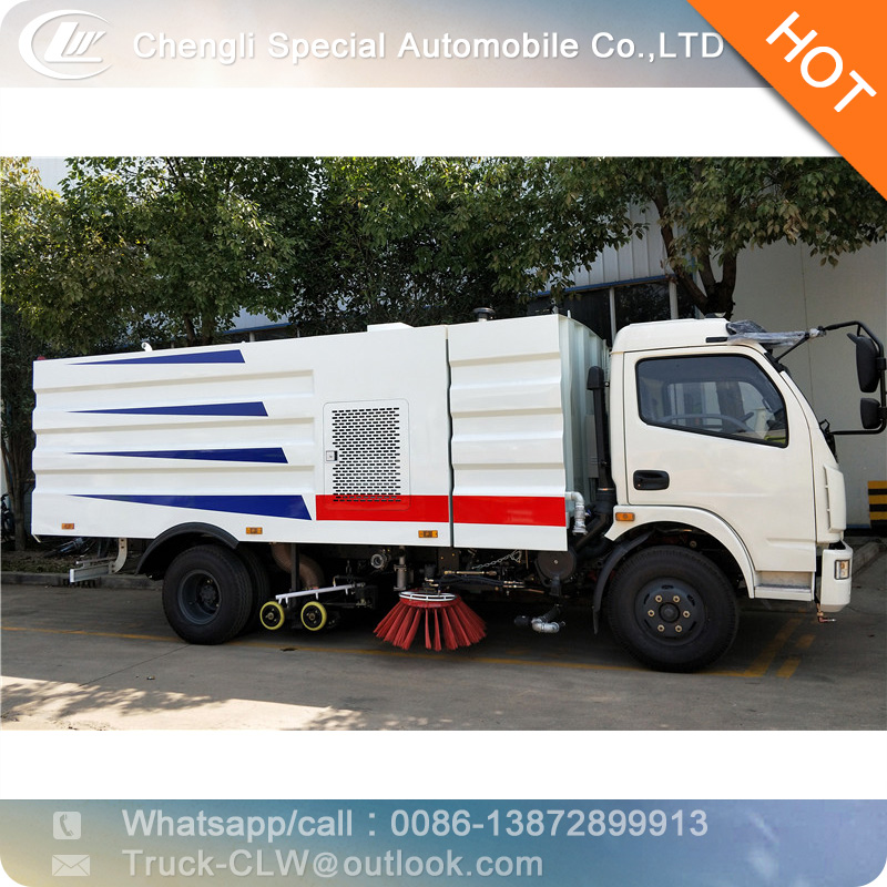 5cbm dongfeng road vacuum cleaner