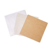 WXF-112 Custom sizes thick card paper envelope for shipping usage, recycled kraft cardboard packaging envelopes