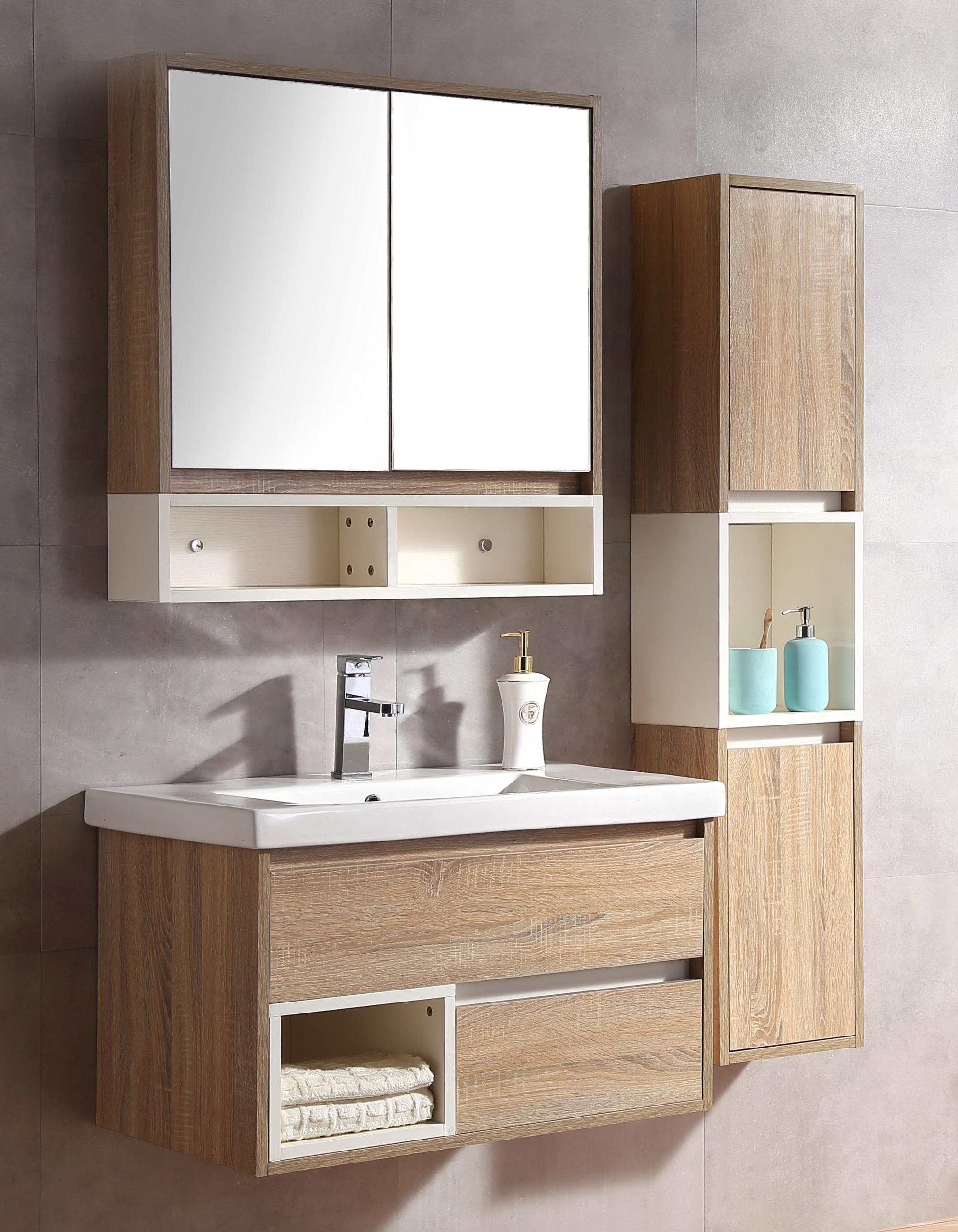 Picture of: 32 Double Sink Bathroom Vanity Set Floating Bath Cabinet With Mirror And Shelf Buy Bathrooms Cabinet With Double Sink Floating Bath Cabinet Bath Cabinet With Wall Shelf Product On Alibaba Com