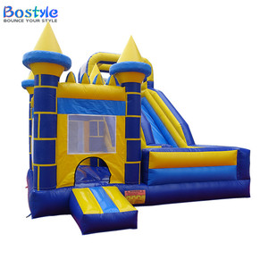 Best selling crazy inflatable bouncer combo inflatable bounce house/inflatable bouncer with slide for kids