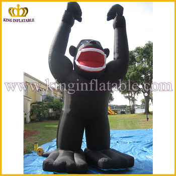 Outdoor Advertising Inflatable Kingkong Black Inflatable Gorilla Balloon & Outdoor Advertising Inflatable KingkongBlack Inflatable Gorilla ...