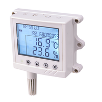 Greenhouse Network RJ45 Port Lcd Humidity Thermometer