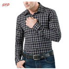 New arrival fashion model plaid polo official shirts for men china manufacturer