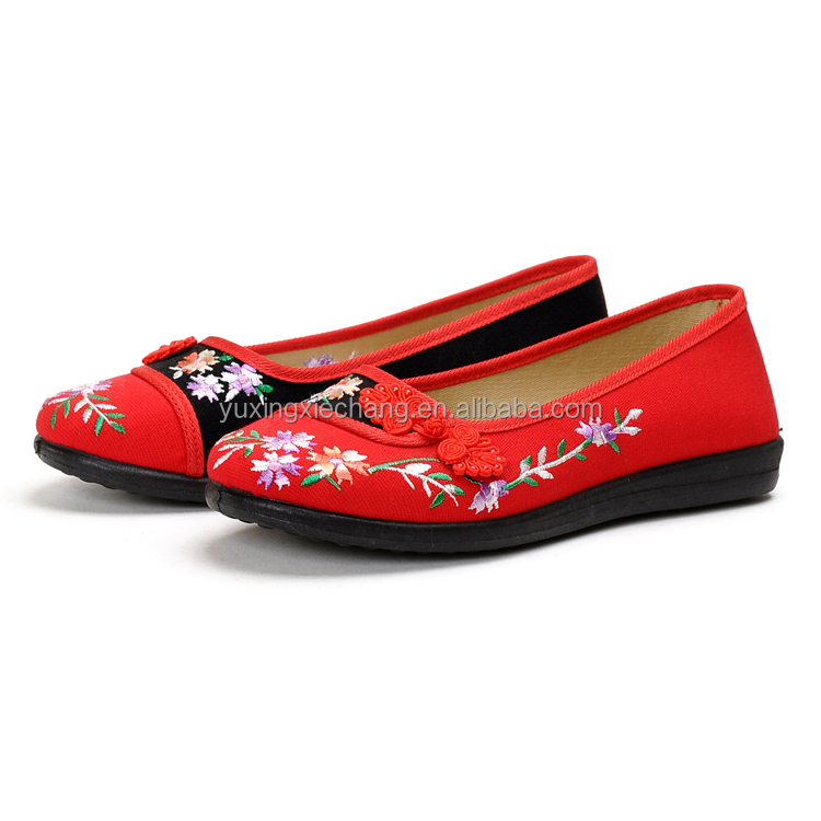 2017 Classic Old Beijing Embroidered Women <strong>Shoes</strong> Wholesale Women <strong>Shoes</strong>