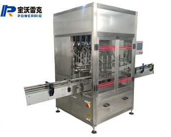 Powerrig machinery ZX-8 high quality jam filling machine with CE certification