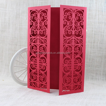 Affordable Blank Chinese Design Red Laser Cut Gate Wedding Invitation Cards Buy Wedding Invitation Cards Gate Wedding Invitation Cards Laser Cut
