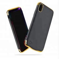 High quality new design 5500mah battery case for iPhone X portable ultra thin power bank case for iPhone X