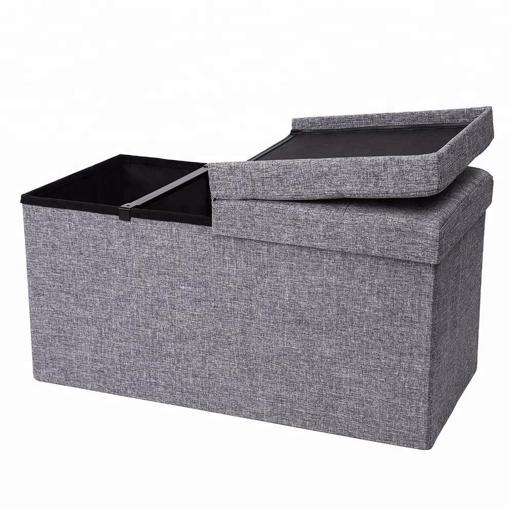 Hot sale furniture modern velvet puff folding ottoman