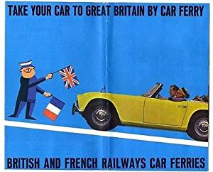 1965 Take Your Car to Great Britain by Car Ferry Brochure
