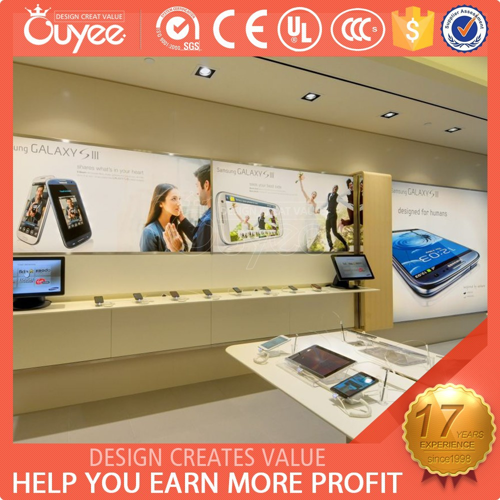 Mobile Display Cabinet Phone Concept Store Phone Concept Store Suppliers And