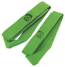"Ancra Tiedowns TIEDOWN SFTHOOK XTEN LIME 18IN Tiedowns & Securing 18"" Soft Hook GRN Lime 1 in- 45214-13"