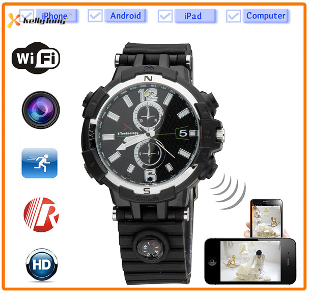 waterproof hd hidden camera watch spy watch camera JUE-209