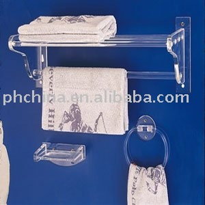 Acrylic Towel Rack;Acrylic Towel Holder;Mid Century Modern Acrylic / Lucite Paper Towel Holder - WOW!