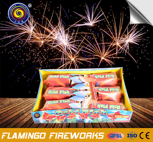 Customized Golden Fish tank fireworks
