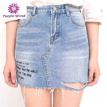 7d794ee55835 Factory Custom Denim Jean Sexy Mini Skirt - Buy Denim Jean Skirt ...