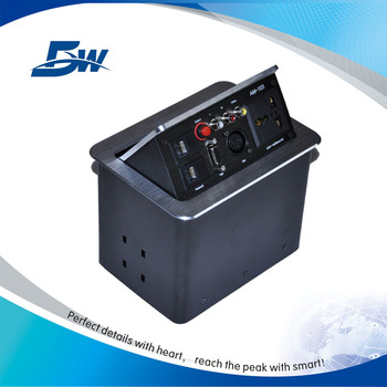 New Style Hidden Pneumatic Conference Table Power Outlet Socket - Conference table power supply