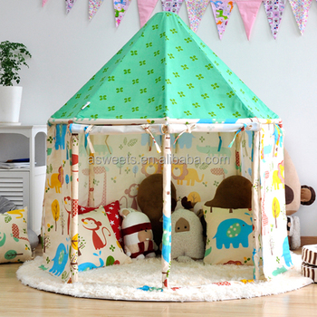 KIDS CIRCUS PAVILION PLAYHOUSE WHOLESALE CANVAS KIDS OUTDOOR PLAY TENT & Kids Circus Pavilion Playhouse Wholesale Canvas Kids Outdoor Play ...