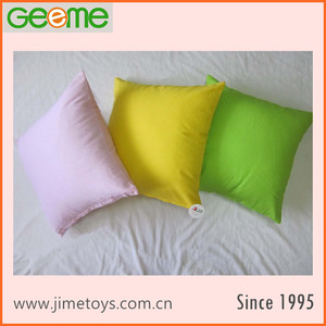 Vacuum Packed Dyed Plain 80% Cotton Canvas Pillow