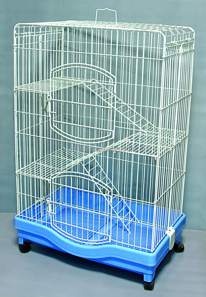 Factory Cheap Cat House Product Big Foldable Wire Pet Cat Cage For Sale