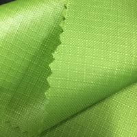 Polyester fabric pu coating 200d ripstop oxford fabric pattern fabric for bag material