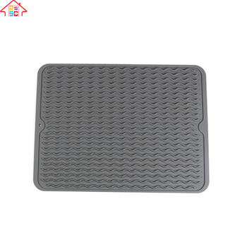 Nbrsc Silicone Dishes Drying Mat Draining Mat For Kitchen Counter Dish  Dryer Mat For Dish Drying - Buy Silicone Drying Mats,Kitchen Tool,Silicone  Mat ...