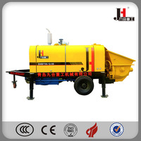 China Famous JH brand Small Diesel Concrete Pump