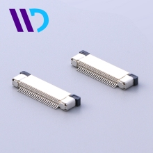 WENDA LCP Material SMT upper contact 4 pin flat cable FPC connector for pcb