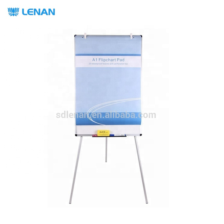 Stationery Factory Supply A1 Plain / Grid Training Offset Printing Flip Chart Writing Paper Pad for Whiteboard Easels