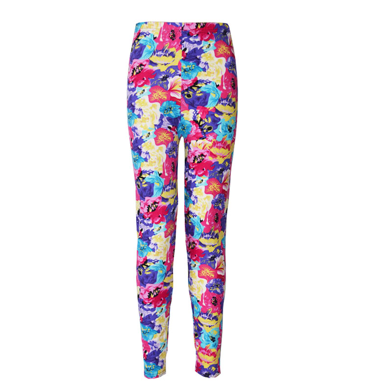 Leggings Print Milk Legins Pants Graffiti Print Trousers Pantaloon Trousers Nine Pant Sports Ladies Trouser Cutting