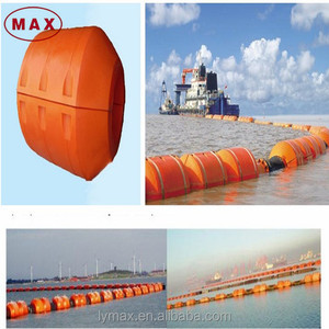 Sand Mining Used 8 inch Plastic Pipe Floats HDPE