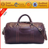 Excellent quality popular 100% genuine leather golf bag travel cover
