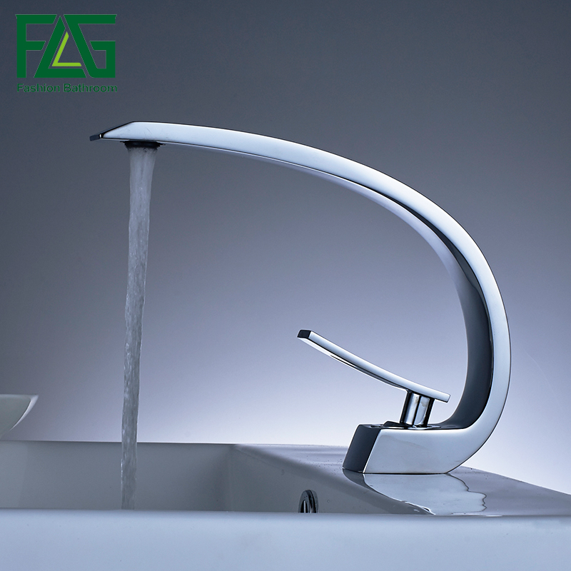 High Quality Solid Brass Body Single Handle Bathroom Basin Faucet Wash