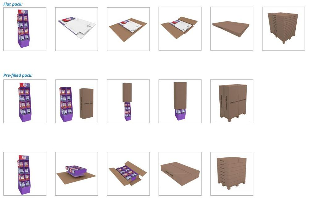Paper Nail Polish Racks Free Custom Design Cheaper High Quality Promotion Recyclable Paper Nail Polish Racks