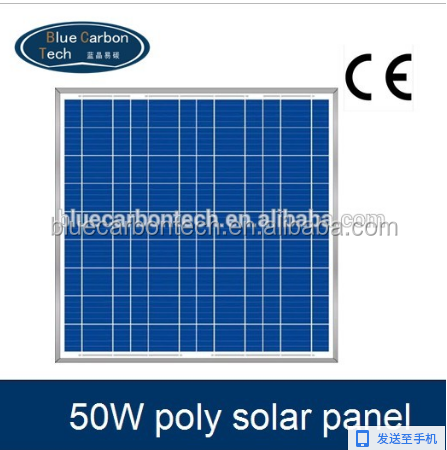Good price 12v 50W small size solar panel for sale