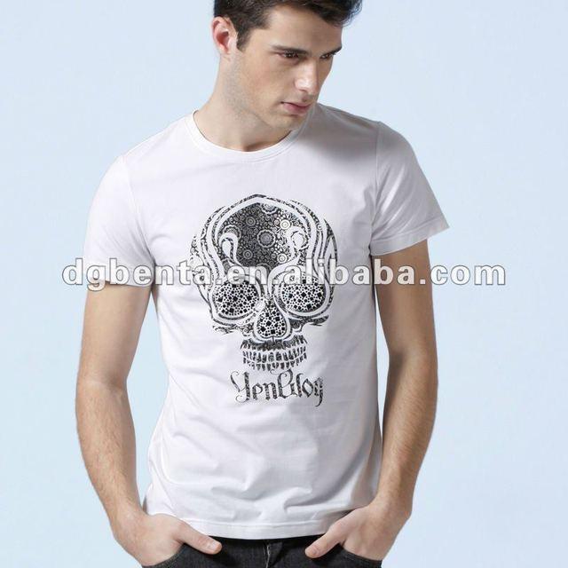 cotton plain white t-shirts breathable t shirt plain high quality t-shirts white shirts for men 2012 shirts