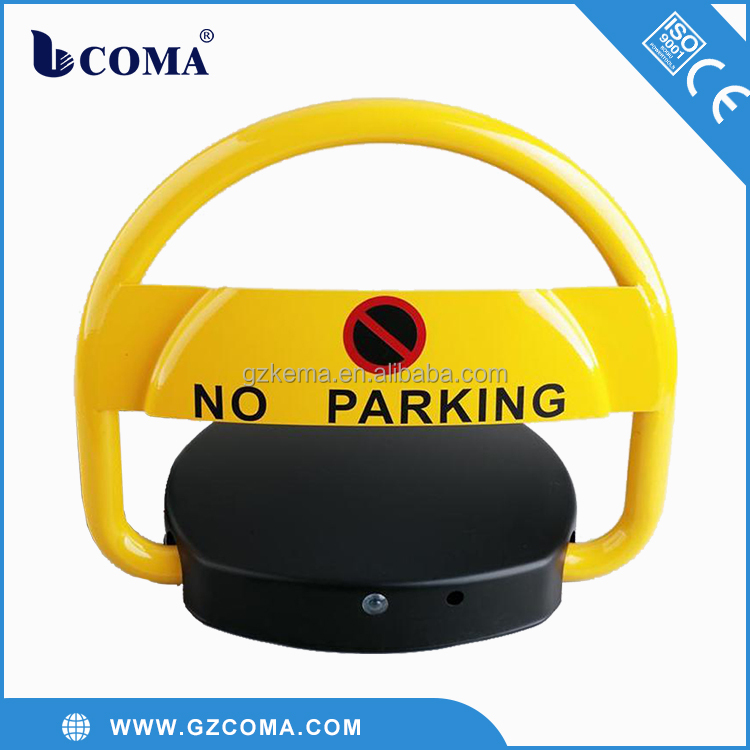 parking lot center wireless key remote control automatic car parking lot lock