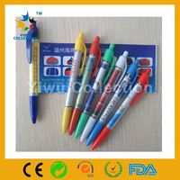 multi-function banner ballpoint pen,banner penswith customized logo,polar pen