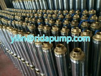 water well irrigation machine oil filled / garden usage electrica centrifugal jet swage submersible pump 4