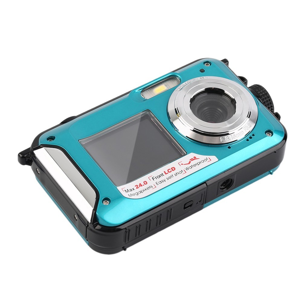 2017 New Arrival 24MP 1080P video camera disposable camera 16x digital zoom under water camera DC-16 smile capture